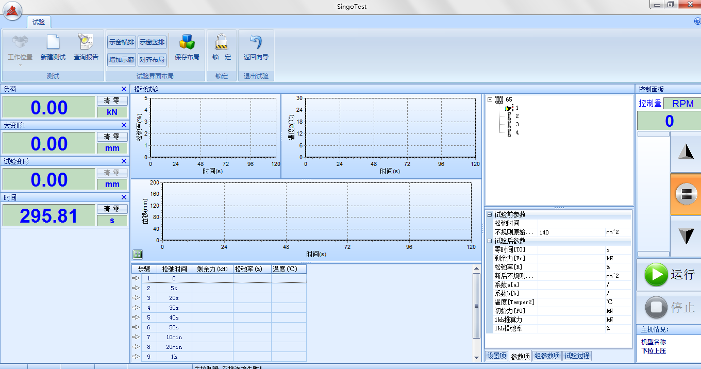 WDSC-300/500/600kN微机控制钢绞线松弛试验机