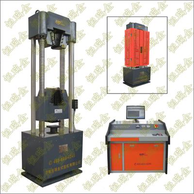 WAW-100B/300B/600B/1000B微机控制电液伺服万能试验机